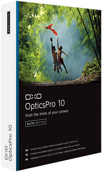 DxO Optics Pro 11 на русском + crack