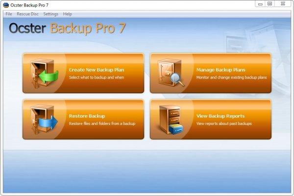 Ocster Backup Pro 7.28 Final – автоматическое создание резервной копии