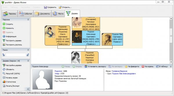Древо Жизни – программа для составления генеалогического древа