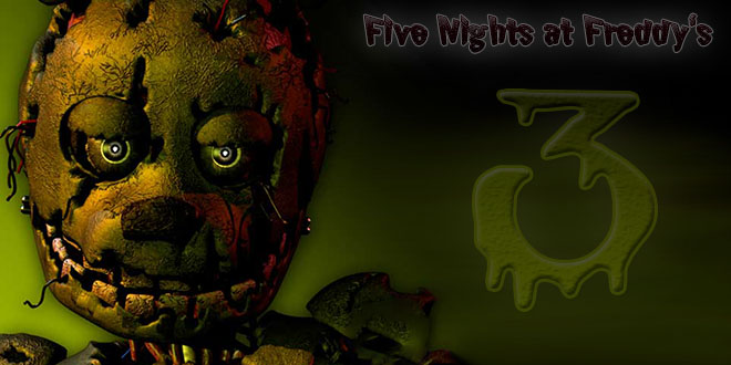Five Nights at Freddy's 3 PC на компьютер