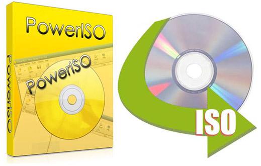 PowerISO 7.2 + ключ