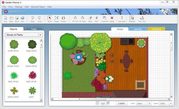 Garden Planner 3.6.3 – программа для создания плана сада