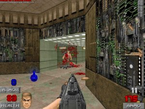 Brutal Doom v0.20 - игра на стадии разработки