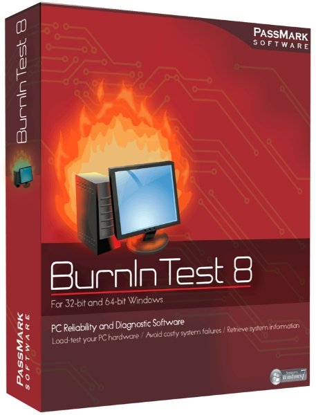 PassMark BurnInTest Pro 8.1 Build 1020 Final + ключ