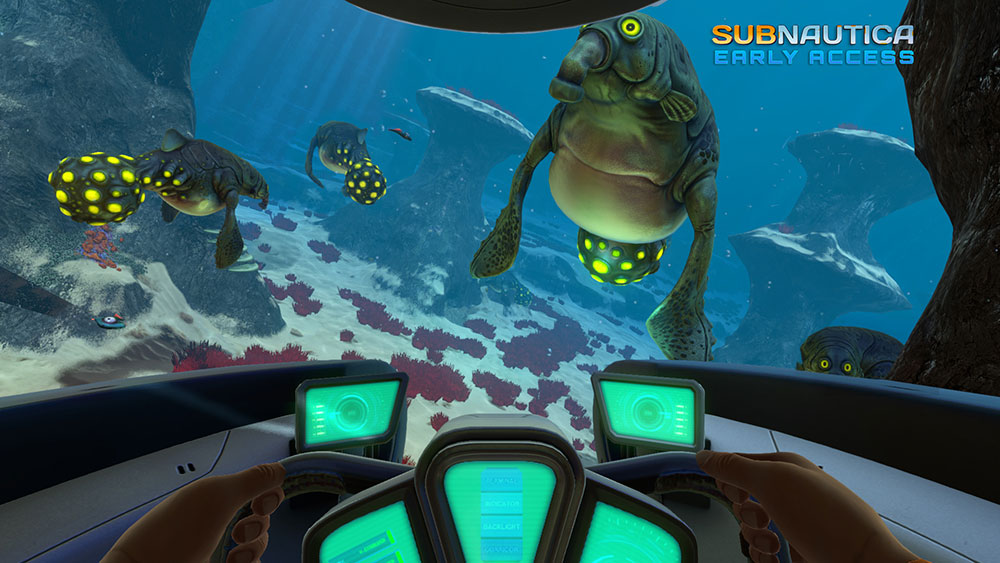 Скачать симулятор subnautica