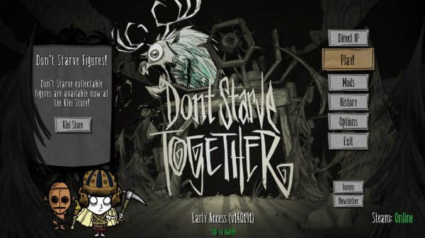 Don't Starve Together v342121