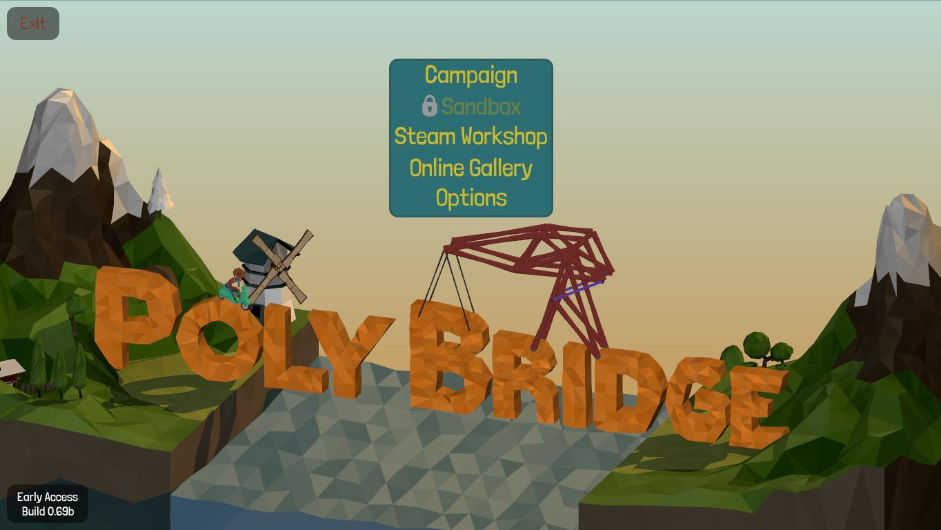 Скачать через торрент poly bridge