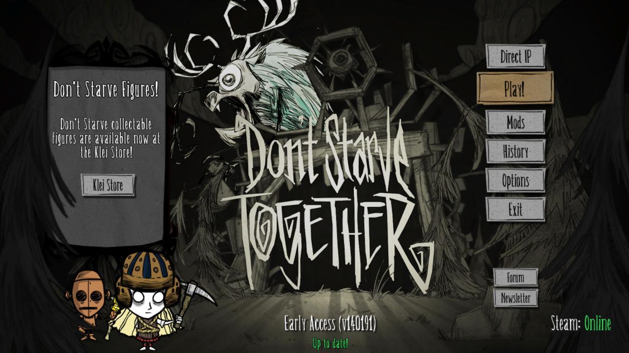 Don't Starve Together [BETA v223464]