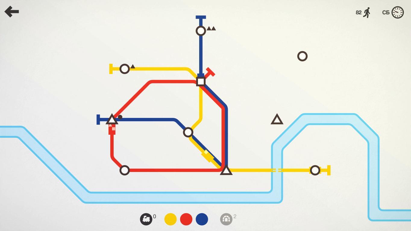 Mini Metro - Скриншот 1