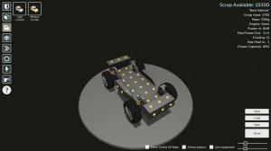 Scraps: Modular Vehicle Combat v0.5.6.1 - игра на стадии разработки