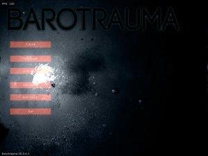 Barotrauma v0.6.1.4 - игра на стадии разработки