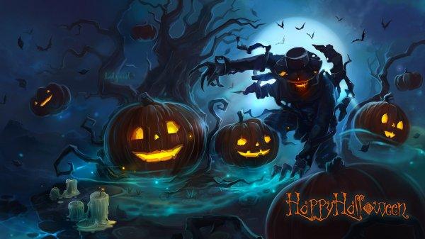 Юбилейная подборка + обои на хэллоуин