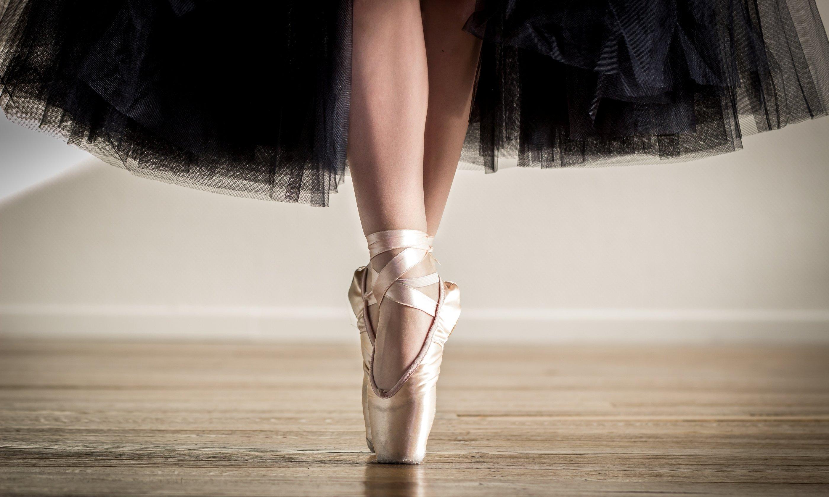 Обои для рабочего стола широкоформатные балет