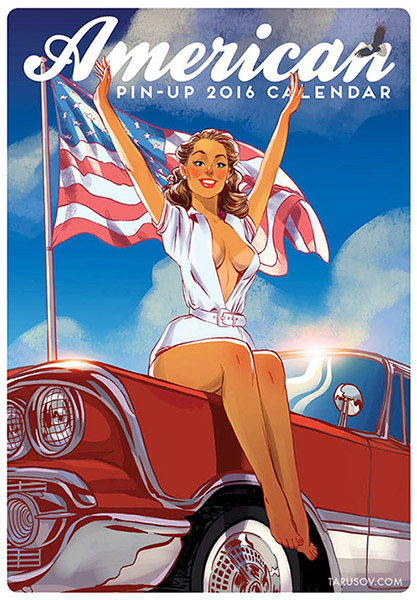 Pin-Up календарь на 2016 год