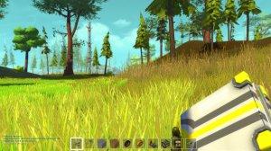 Scrap Mechanic v0.3.2 - игра на стадии разработки
