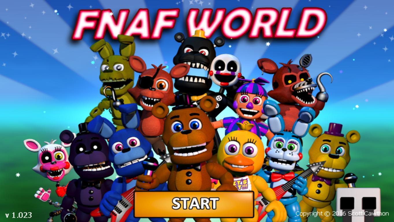Скачать fnaf world на android, apk файл игры mob. Org.