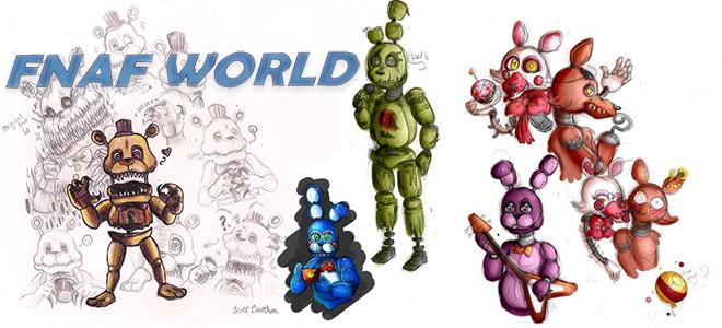 FNaF World v1.24 Update 2 - полная версия