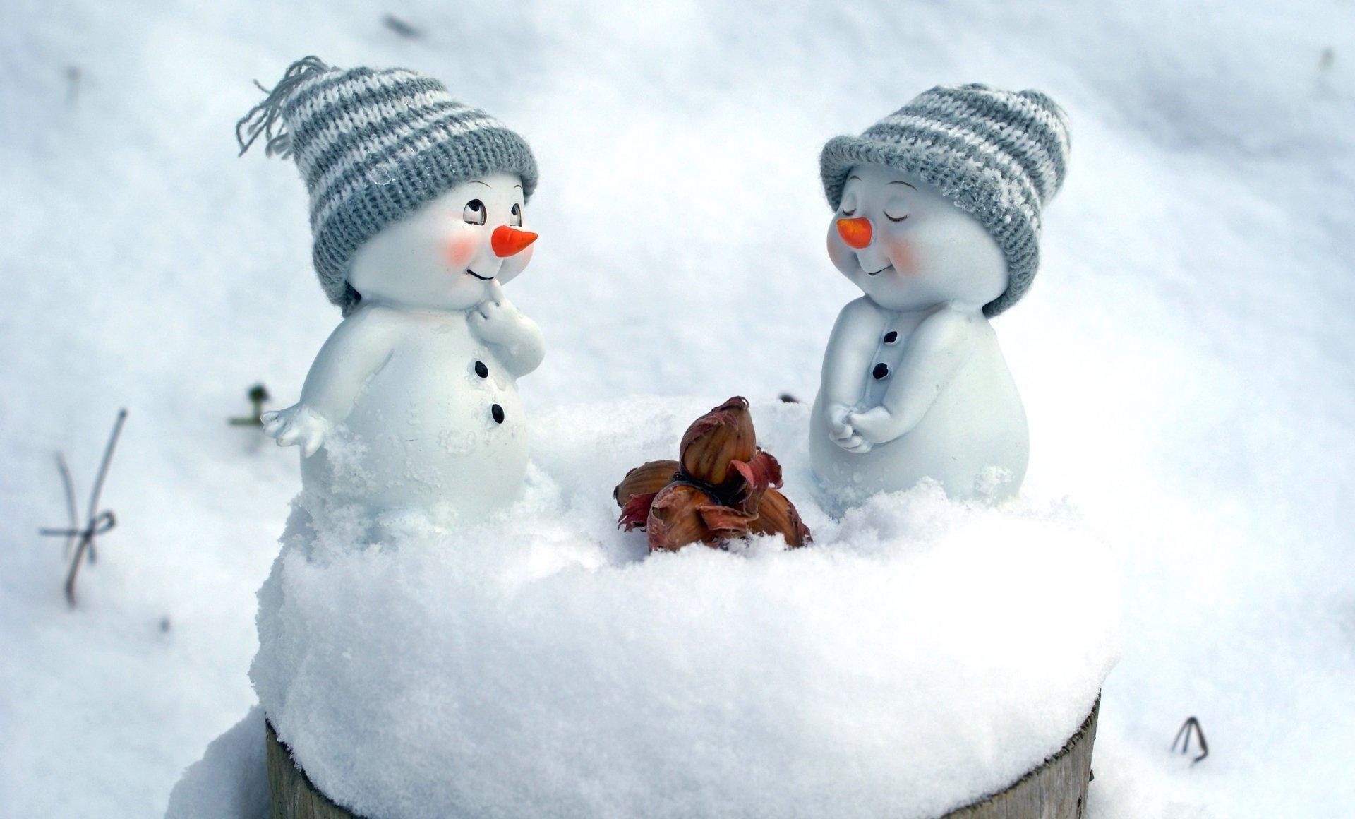 Живые обои снеговик для рабочего стола