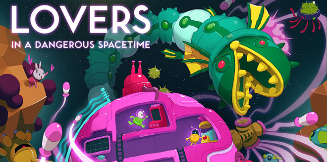 Lovers in a Dangerous Spacetime v1.4.5 – полная версия на русском