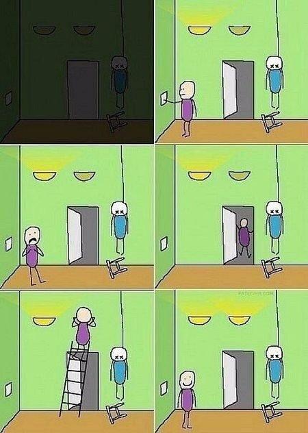 Микс из самых смешных шуток в картинках
