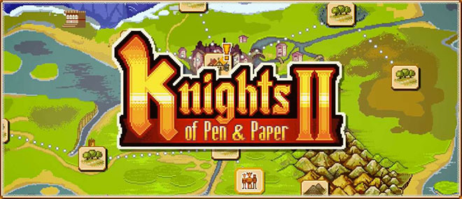 Knights of Pen and Paper 2: Here Be Dragons – полная версия на русском