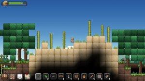 Junk Jack PC v3.2 - игра на стадии разработки