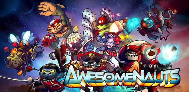 Awesomenauts v3.4.2 + 76 DLC - полная версия на русском