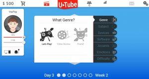 Video blogger Story v26.11.2016 - игра на стадии разработки