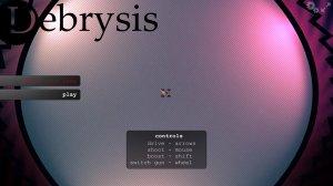 Debrysis v0.41 - игра на стадии разработки