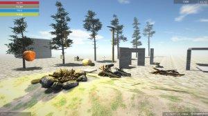 Winterfall v0.10 - игра на стадии разработки