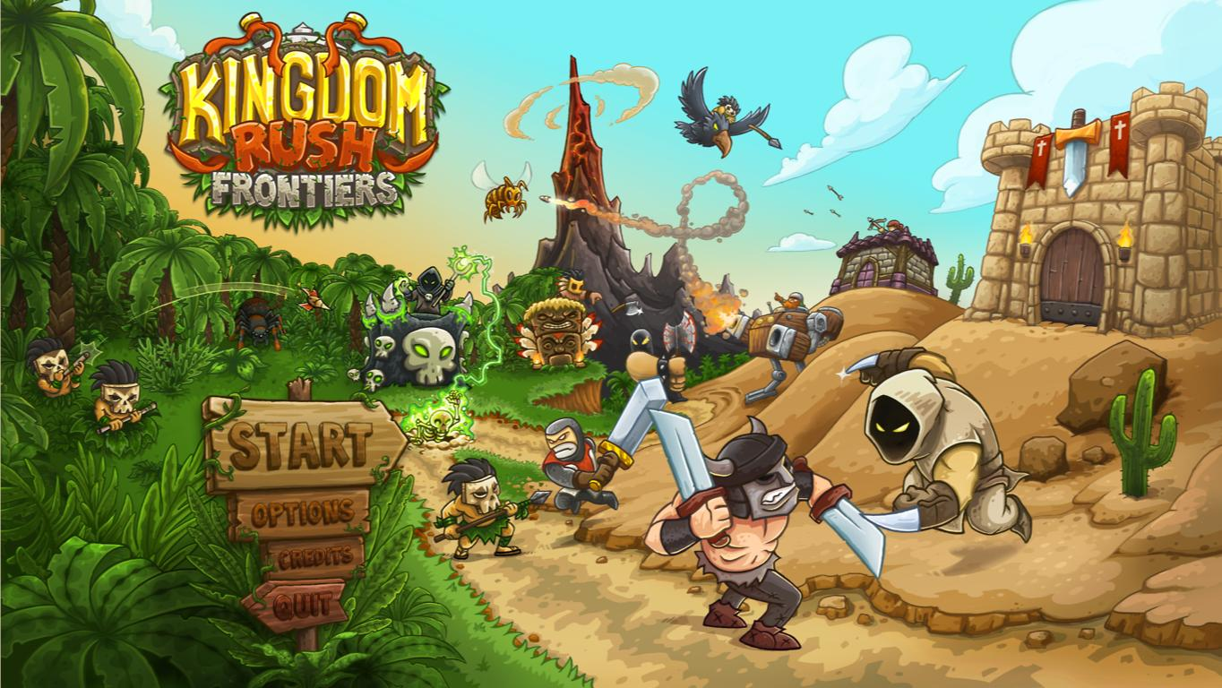 Скачать kingdom rush 2 frontiers на компьютер