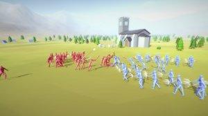 Totally Accurate Battle Simulator / TABS v0.3.6192.6310 - игра на стадии разработки