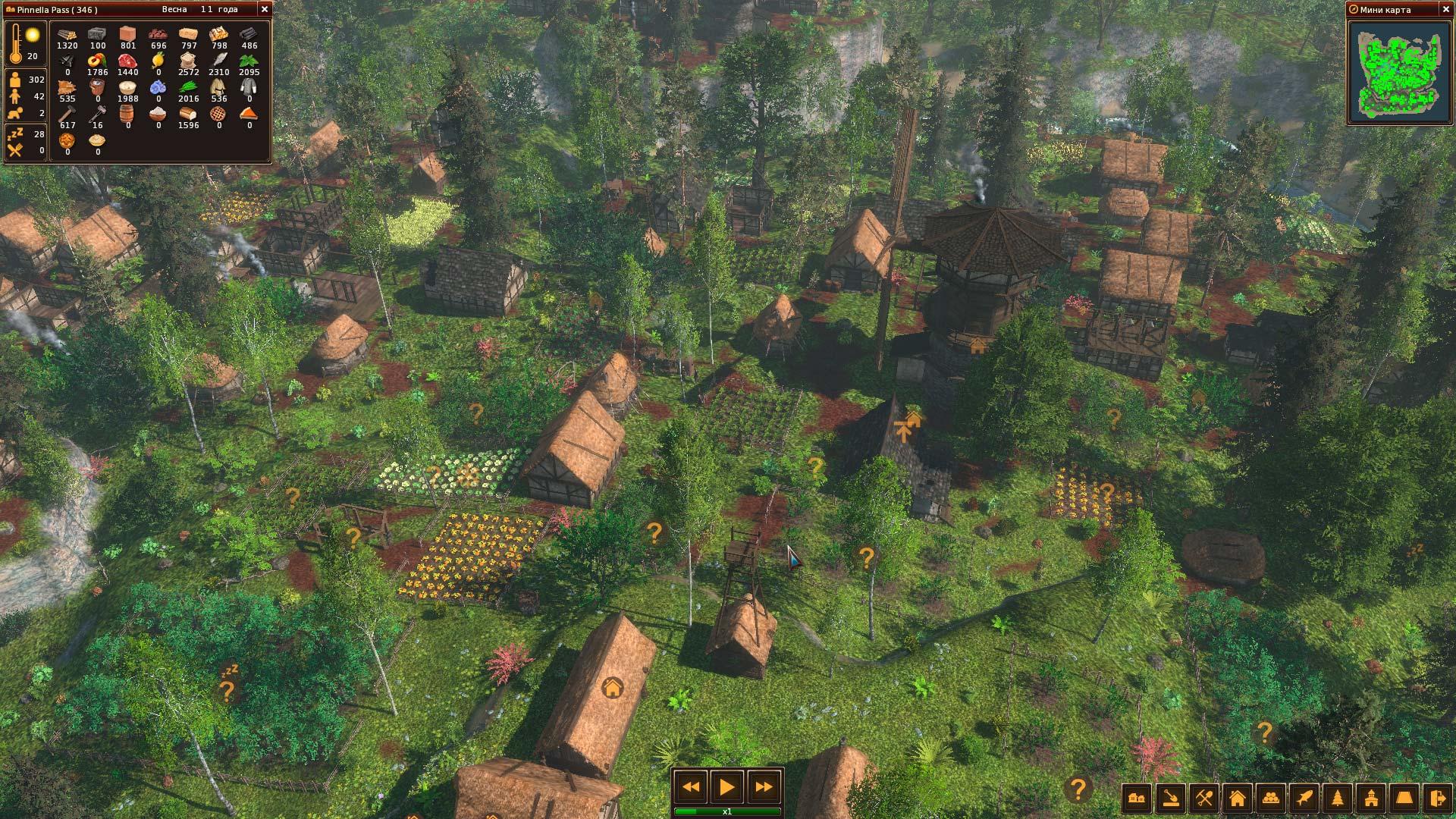 Life is feudal дома сюжетно-ролевая игра в зоопарке