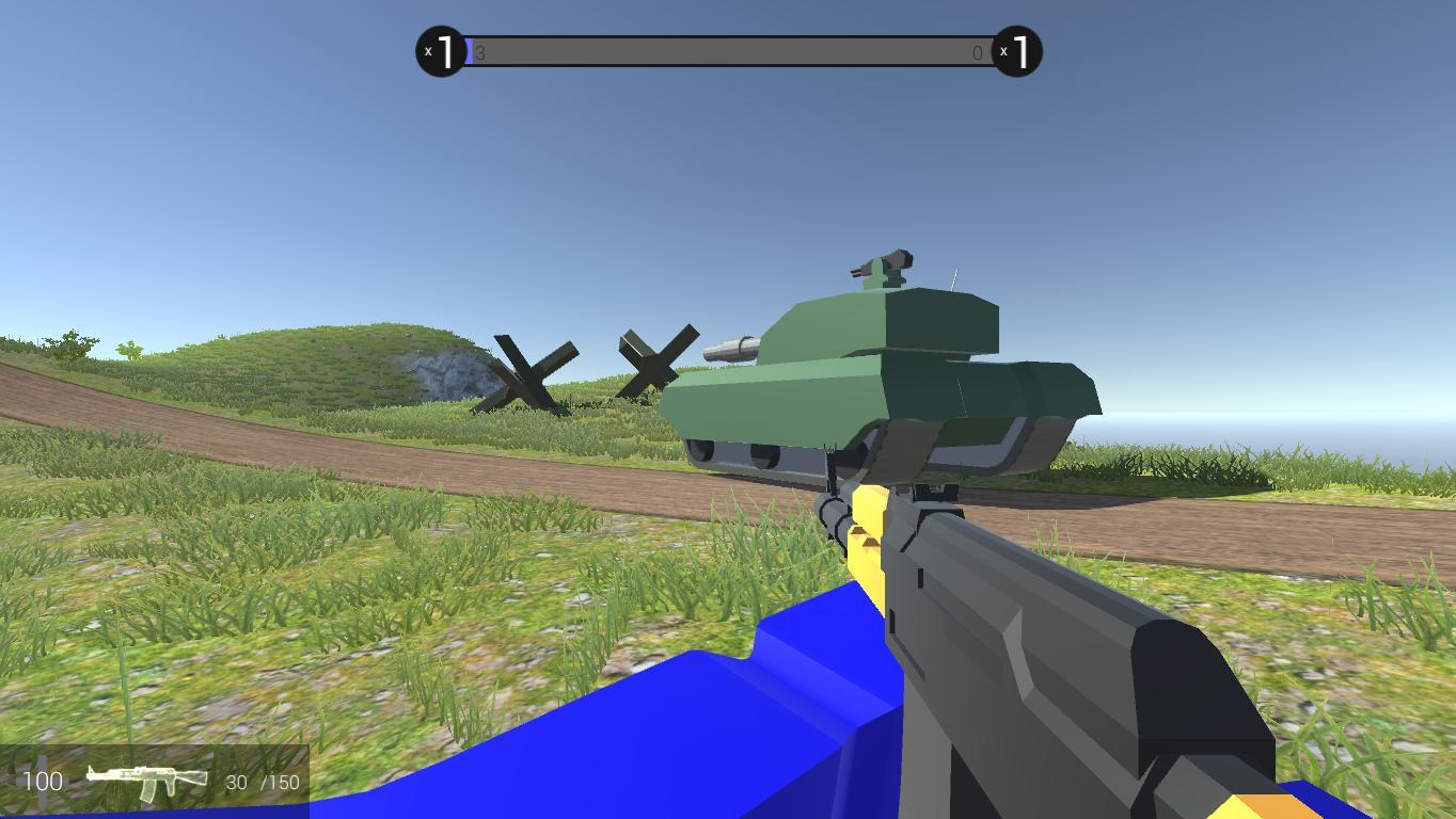 игра с винтовки