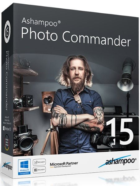 Ashampoo Photo Commander 15.1.0 + crack