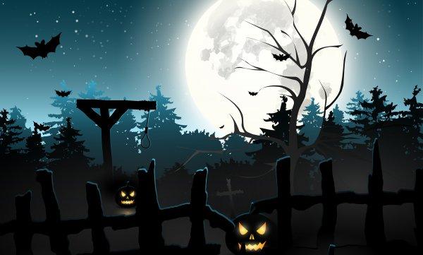 Обои vsetop Хэллоуин