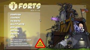 Forts v2017.11.01a - игра на стадии разработки