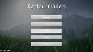 Realm of Rulers v0.16.4 - игра на стадии разработки