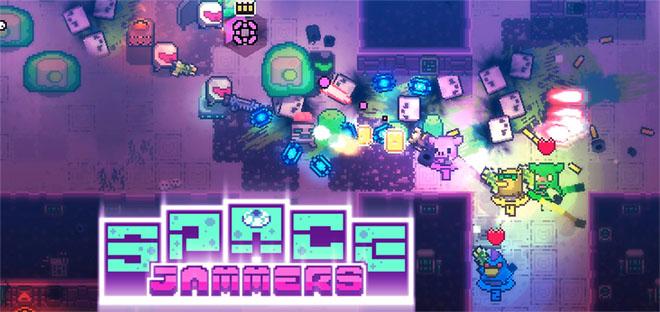 Space Jammers v0.465 - игра на стадии разработки