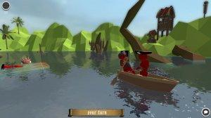 Stupid Raft Battle Simulator - игра на стадии разработки