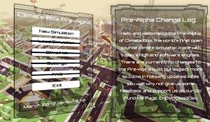 Climate Box Pre-Alpha v0.0.4 - игра на стадии разработки