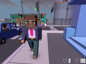 Broke Protocol v0.95 - игра на стадии разработки
