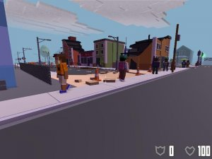 Broke Protocol v0.67 - игра на стадии разработки