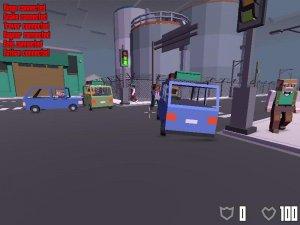 Broke Protocol v0.75 - игра на стадии разработки