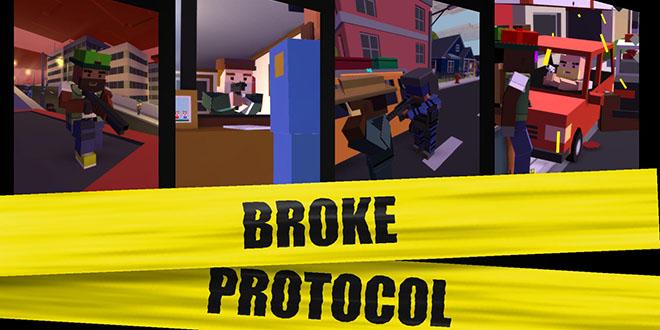 Broke Protocol v0.85 - игра на стадии разработки