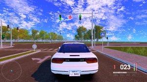 Jidousha Shakai v02.06.17 - игра на стадии разработки