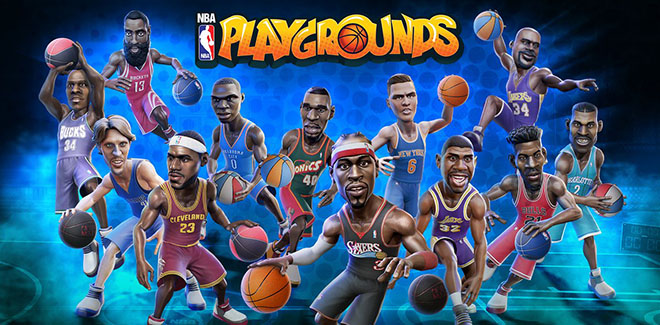 NBA Playgrounds v1.4 - полная версия