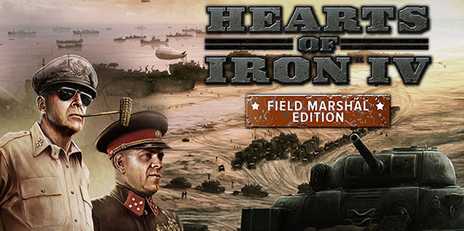 Hearts of Iron 4: Field Marshal Edition v1.4.2 – торрент