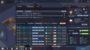 ESports Club v0.10417 - игра на стадии разработки