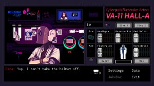 VA-11 Hall-A: Cyberpunk Bartender Action - полная версия